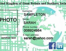 #3 untuk Passport Design oleh pandorasher