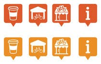 Graphic Design Entri Peraduan #61 for Design some safety icons for a map on our website