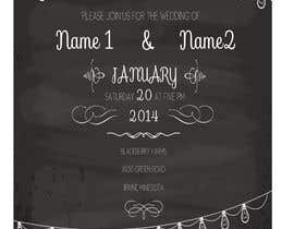#2 for RETRO WEDDING DESIGN TEMPLATE by vladone13