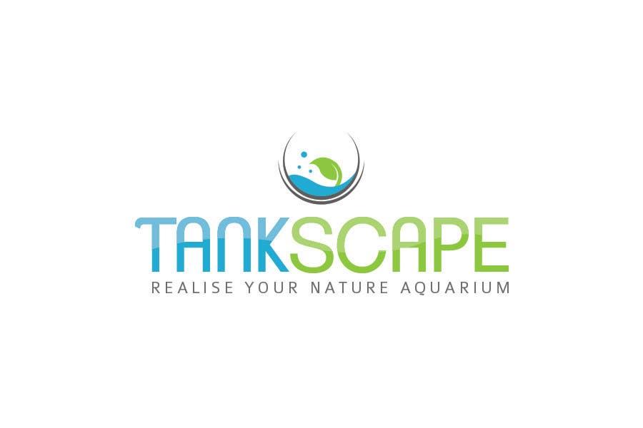 #83 for Logo design for Tankscape (Nature Aquarium Store) by Rushiad