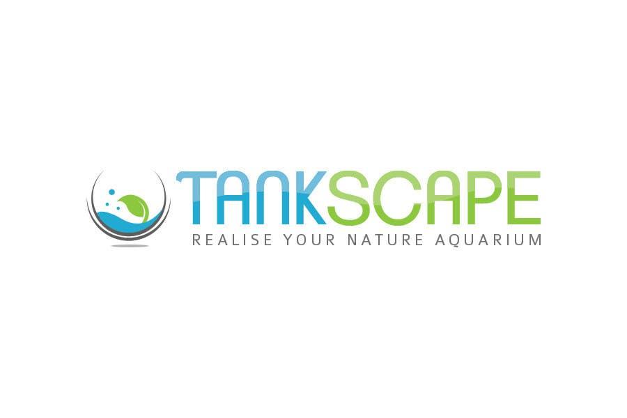 #84 for Logo design for Tankscape (Nature Aquarium Store) by Rushiad