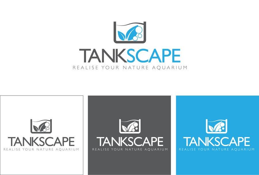 #89 for Logo design for Tankscape (Nature Aquarium Store) by AnaCZ