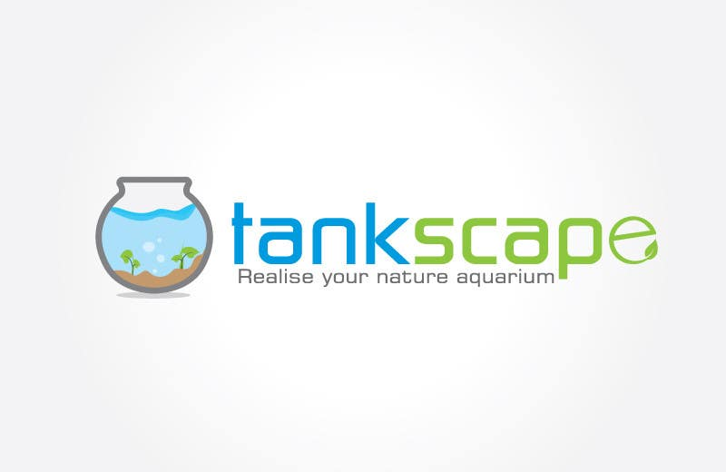 #85 for Logo design for Tankscape (Nature Aquarium Store) by XpertgraphicD