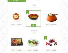 #17 untuk Design order page for food delivery website oleh zaxsol