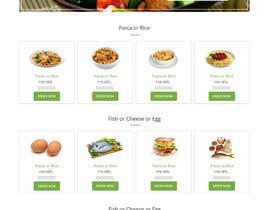 #12 untuk Design order page for food delivery website oleh syrwebdevelopmen