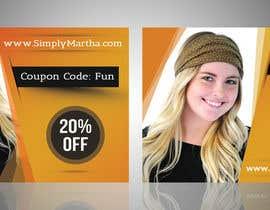 #41 untuk Design a 20% OFF coupon oleh sanaullahsayem