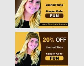 #35 untuk Design a 20% OFF coupon oleh Shrey0017