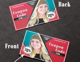 #36 untuk Design a 20% OFF coupon oleh blackjacob009