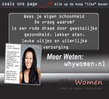 Contest Entry #26 for Design a Facebook landing page for whywomen.nl
