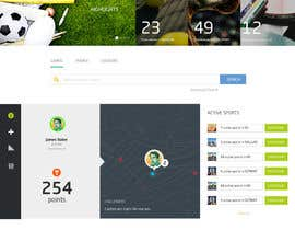 #10 untuk Single Web Page Design includes Header and Frozen Footer oleh shdt