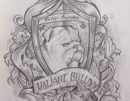 theinkedmink tarafından Valiant Bulldog Logo Design için no 14
