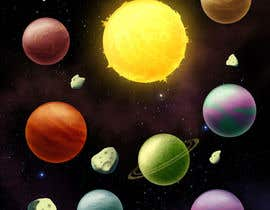 roland211 tarafından Looking for an artist to design a deep space game background and some planets. için no 21