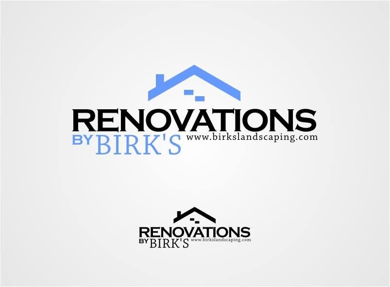 Penyertaan Peraduan #17 untuk Design a Logo for Renovations Company
