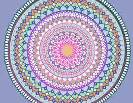 #24 untuk Illustrate a design for a mandala beach towel. oleh chanelleurie