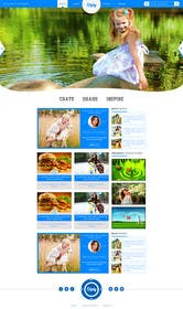 #11 untuk Design a Website Mockup Similar to Diply oleh creativedesires