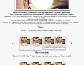 #2 for Design a Website Mockup with Logo by TheMrExplorer