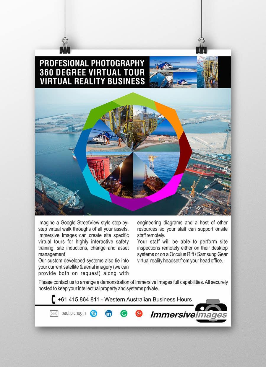 Penyertaan Peraduan #27 untuk Design a poster for potential investors