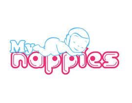 #213 para Logo Design for My Nappies por Moon0322