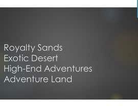 #266 untuk Company Name  Ideas for Desert Camp oleh BreYvonne