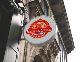 #20 for BALKAN STYLE / Rakija & Grill : Logo design by Atletikos