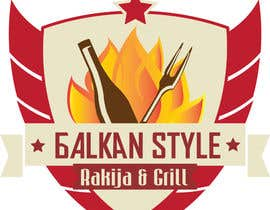 #30 for BALKAN STYLE / Rakija & Grill : Logo design by KonstantinosArg