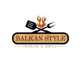 ExpertsDesigns tarafından BALKAN STYLE / Rakija & Grill : Logo design için no 8
