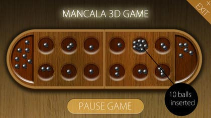#21 untuk Design a 3D game of mancala oleh angela2015