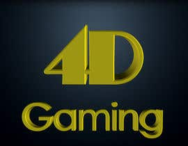 #112 for Design a Logo for 4-D Gaming by CarolusJet