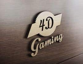 #20 for Design a Logo for 4-D Gaming by ahmad111951