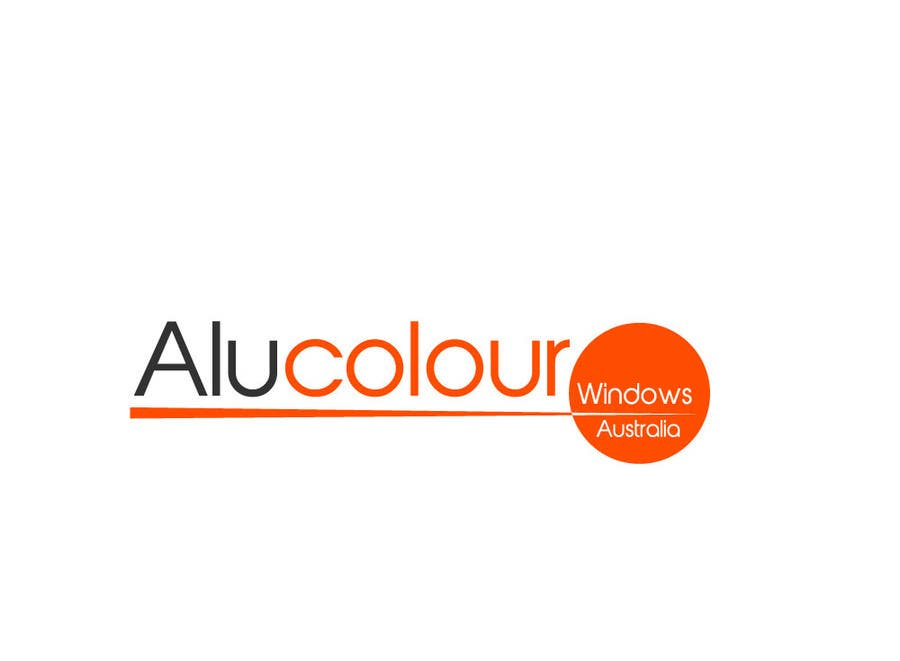 Konkurrenceindlæg #70 for Design a Logo for Alucolour Windows Australia