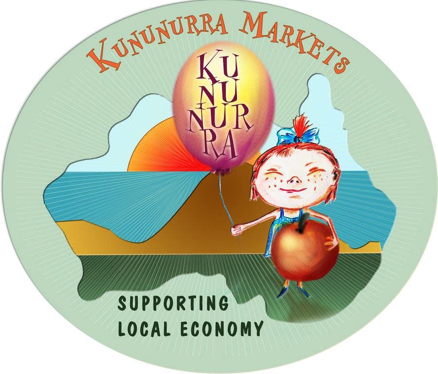 Penyertaan Peraduan #38 untuk Design a Logo for Kununurra Markets