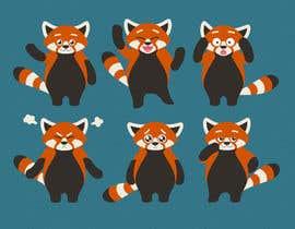 #30 untuk Red Panda Mascot For Language Learning Site oleh orlandi