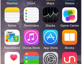 #102 untuk Design simple icon for app oleh blackjacob009