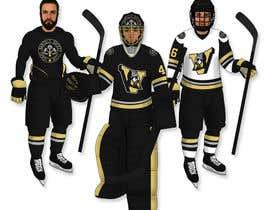 #52 untuk Hockey Logo and Jersey Design oleh JCRGraphix