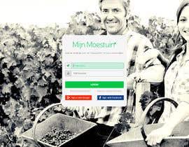 jersonstudio tarafından Moestuin applicatie - Promo pagina için no 1