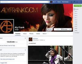 LeslieDesign tarafından Design a Facebook page for artist/musician! için no 17