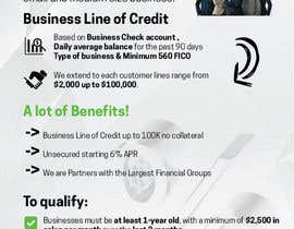 #11 untuk Design a Brochure Business Line of Credit  2 oleh majakcz