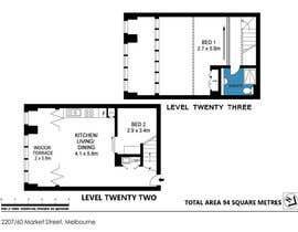 #1 untuk Edit a floorplan oleh RaveenSachi22