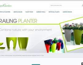 urieldr tarafından Design a banner for my Website Railing Planters için no 9