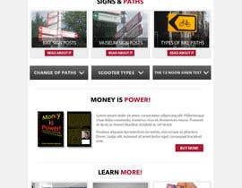 Nro 10 kilpailuun Build a three page for an e-commerce Store käyttäjältä JohnnyK13