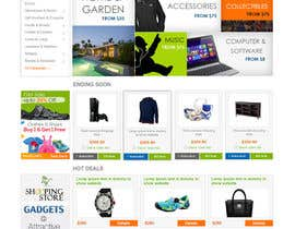Nro 6 kilpailuun Build a three page for an e-commerce Store käyttäjältä ZWebcreater