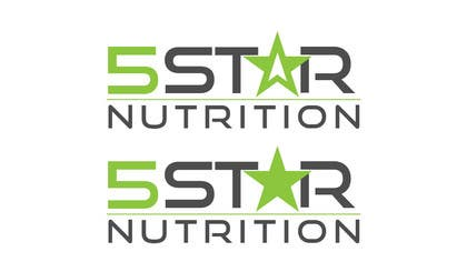 rraja14 tarafından Design a Logo - 5 Star Nutrition için no 834