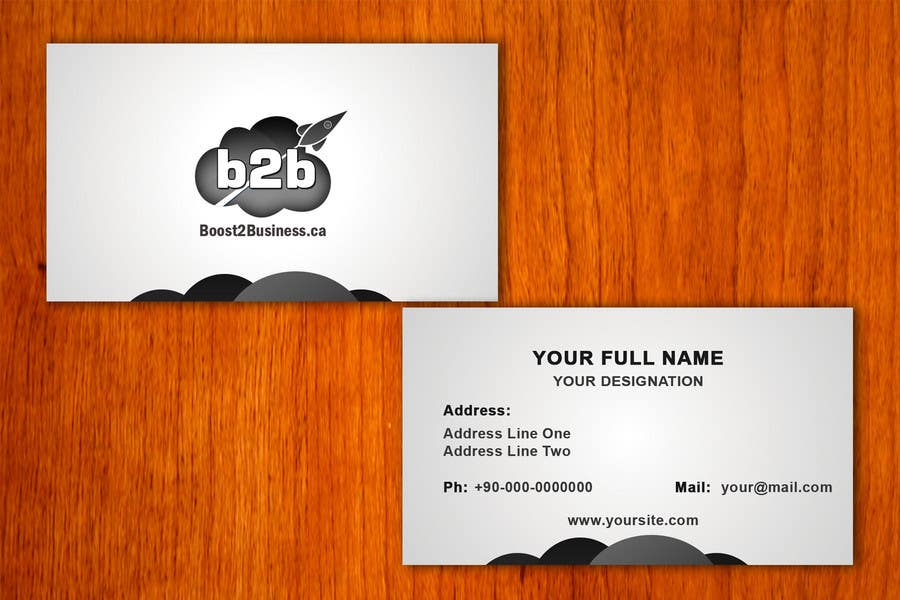 #3 for Corporate Image: Business Card, envelope, iPhone screen,etc. by amitpadal