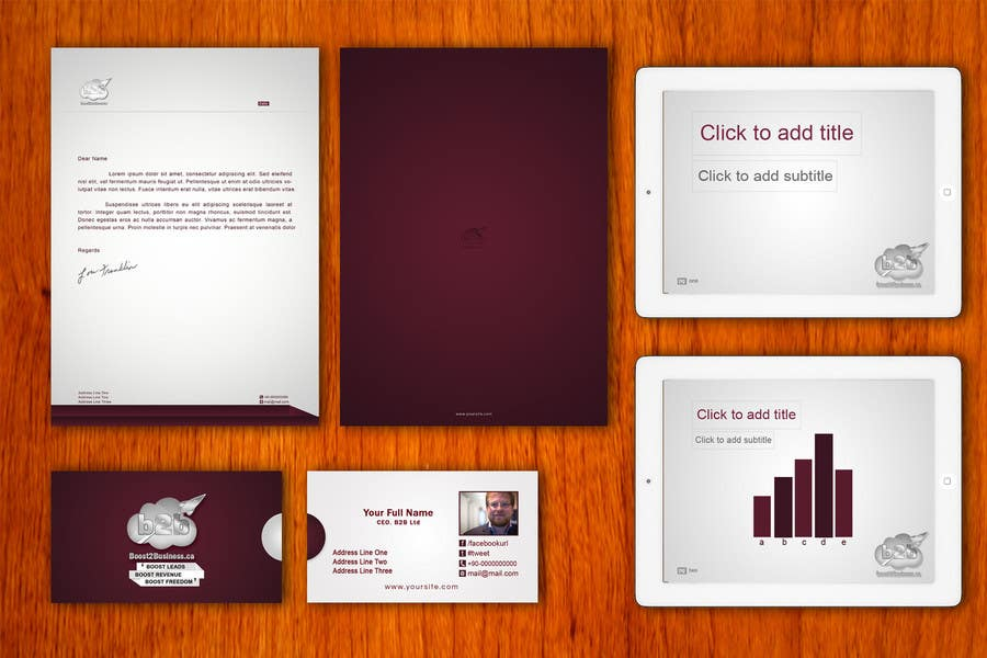 #16 for Corporate Image: Business Card, envelope, iPhone screen,etc. by amitpadal