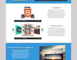 #39 для Design Homepage Layout For Cloud Storage App от ramzes1927