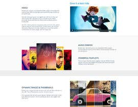 theislanders tarafından Design Homepage Layout For Cloud Storage App için no 30