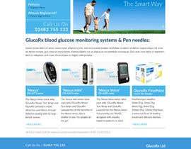 ubkf tarafından Design a WebGluco RX Websitesite Mockup için no 70