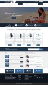 ankisethiya tarafından Design a WebGluco RX Websitesite Mockup için no 8