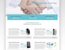 #42 for Design a WebGluco RX Websitesite Mockup by AkhilAbraham