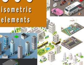 caroandrade26 tarafından 100+ isometric building designs for mobile city building game için no 27